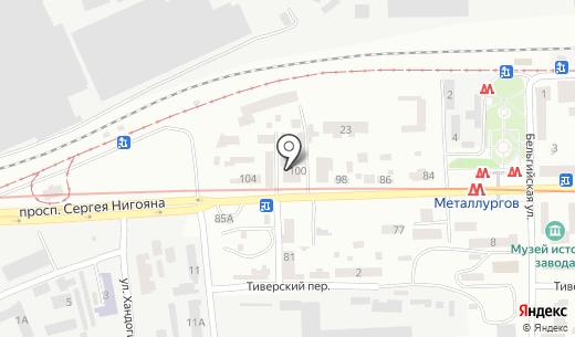 Зеланд. Схема проезда в Днепропетровске