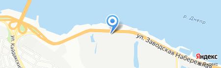 Укрметпром на карте Днепропетровска