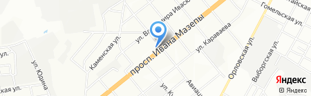 Аптека Доброго Дня на карте Днепропетровска