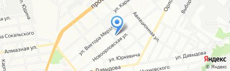 Асорті на карте Днепропетровска