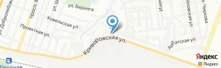 Иртыш на карте Днепропетровска