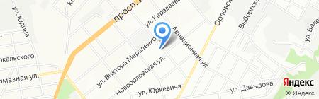 Днепропетровская детская художественная школа №1 на карте Днепропетровска