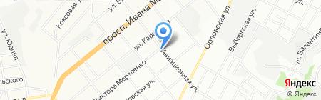 Лілія на карте Днепропетровска