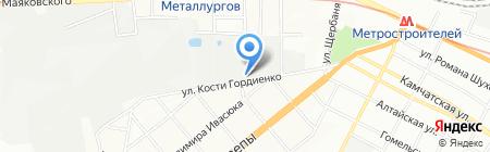 ГОСПОДАР на карте Днепропетровска