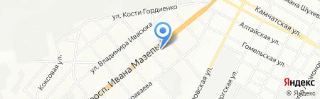 ДЕТАЛЬ-ко на карте Днепропетровска