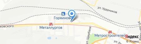Сигма-Сервис ЧП на карте Днепропетровска
