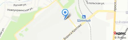 Банкомат Укрексімбанк на карте Днепропетровска