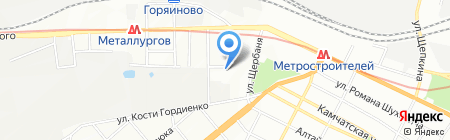 Крафт Электрик на карте Днепропетровска