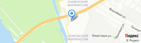 Сантехплюс на карте Днепропетровска