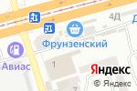 Схема проезда до компании Стройка & Рыбалка в Днепре