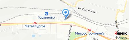 Уютный Дилиджанс на карте Днепропетровска