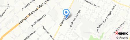 Энергия Нефти на карте Днепропетровска