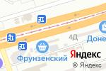 Схема проезда до компании Магічна скринька в Днепре