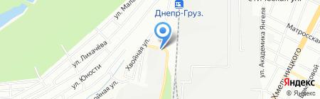 Центр-Шина на карте Днепропетровска