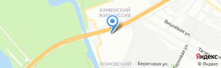 Хліб Каравай на карте Днепропетровска