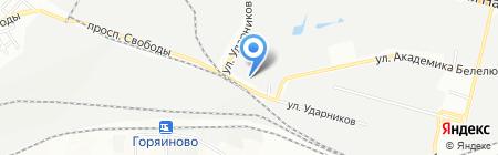 Бытовые услуги на карте Днепропетровска