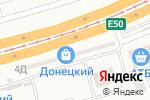 Схема проезда до компании Магазин швейной фурнитуры в Днепре