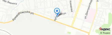 Эргомера ЧП на карте Днепропетровска