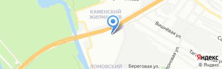 Beer-Лога на карте Днепропетровска