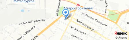 Середня загальноосвітня школа №77 на карте Днепропетровска