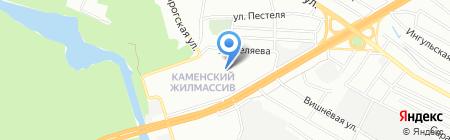 Бейт-Хана на карте Днепропетровска