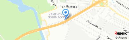 Ковбасний ярмарок на карте Днепропетровска