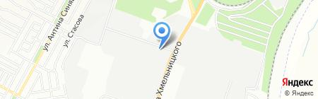 Шестерни на карте Днепропетровска