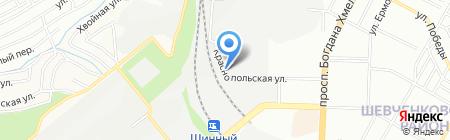 korob.com.ua на карте Днепропетровска