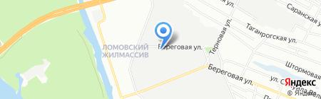 Днепрсервисинвест на карте Днепропетровска