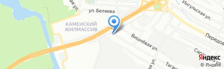 Капитан-Л ЧП на карте Днепропетровска