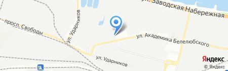Практика Украина на карте Днепропетровска