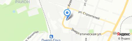 Минутка на карте Днепропетровска