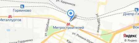 Ветеринарная аптека на карте Днепропетровска