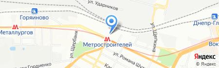 Украина-Принт на карте Днепропетровска