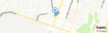 Доля на карте Днепропетровска