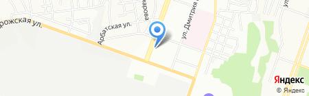 Школа сказки на карте Днепропетровска