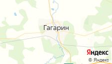 Гостиницы города Гагарин на карте