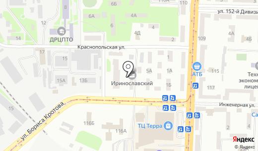 Faberlic. Схема проезда в Днепропетровске
