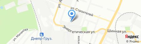 ТК-Домашний текстиль на карте Днепропетровска