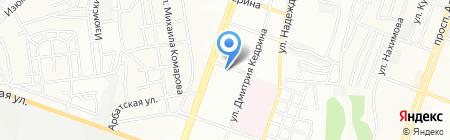 Театральное на карте Днепропетровска