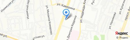 Зизи на карте Днепропетровска