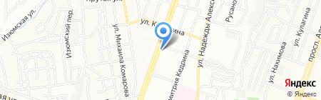 Асервис на карте Днепропетровска