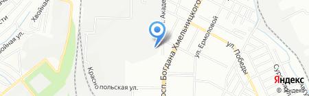 Полипак на карте Днепропетровска