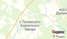 Отели города Кремичное на карте