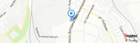 СтройСфера на карте Днепропетровска