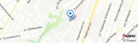 Промхимснаб Плюс на карте Днепропетровска