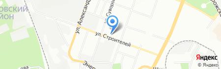 Середня загальноосвітня школа №62 на карте Днепропетровска