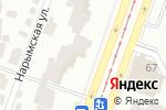 Схема проезда до компании Магазин кафеля и сантехники в Днепре