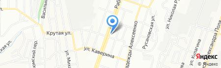 АТБ на карте Днепропетровска