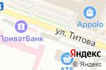 Схема проезда до компании Ідея Банк, ПАТ в Днепре